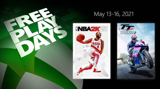 Free Play Days from May 14 to 16.