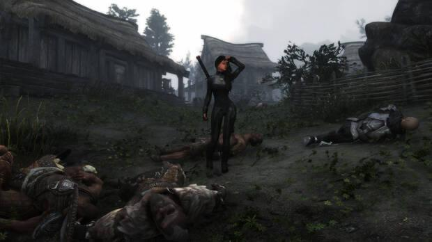 Get to kill all the NPCs and enemies of Skyrim.