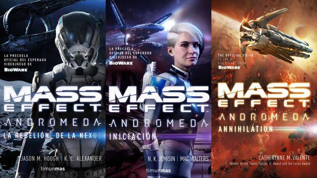 Mass Effect Andromeda libros novelas