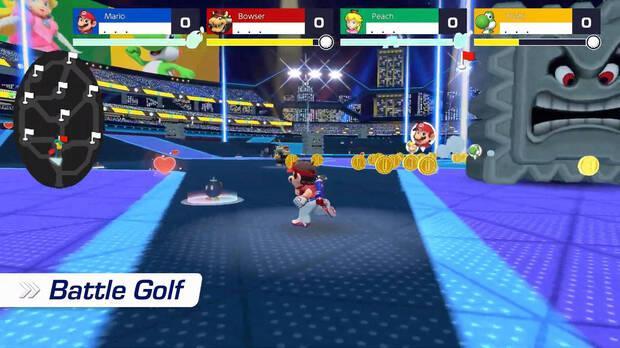 Mario golf modos
