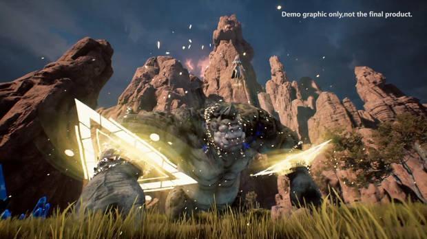 Captura de Project Ragnarok.