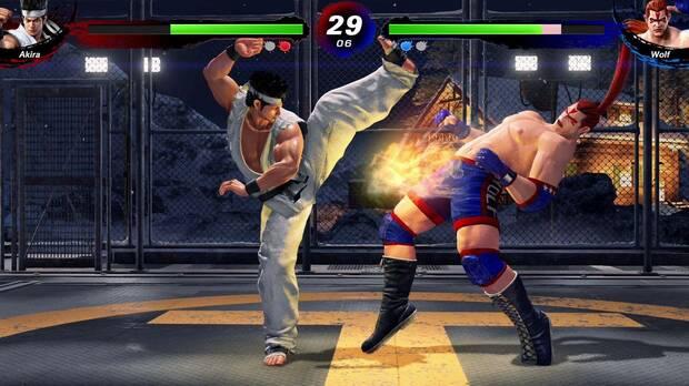 Captura de Virtua Fighter 5: Ultimate Showdown.