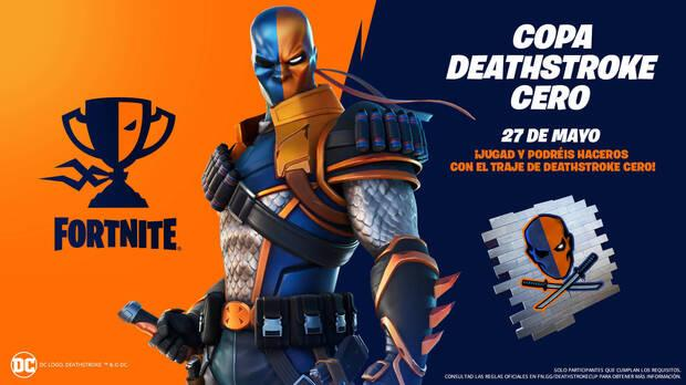 Zero Deathstroke Cup Cup in Fortnite: dates and c