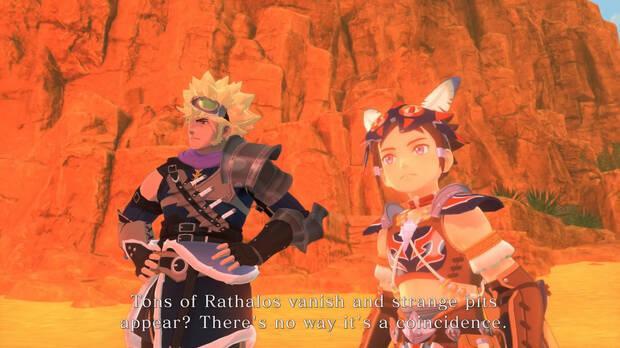 Captura de Monster Hunter Stories 2: Wings of Ruin.