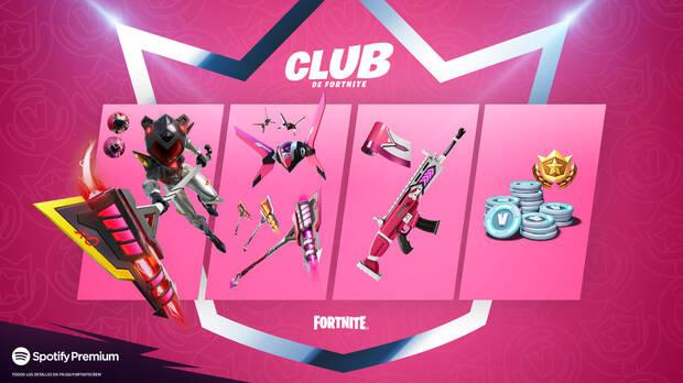 Master Mecha Cuddles, the new skin of the Fortnite Club in June 2021 - Contents