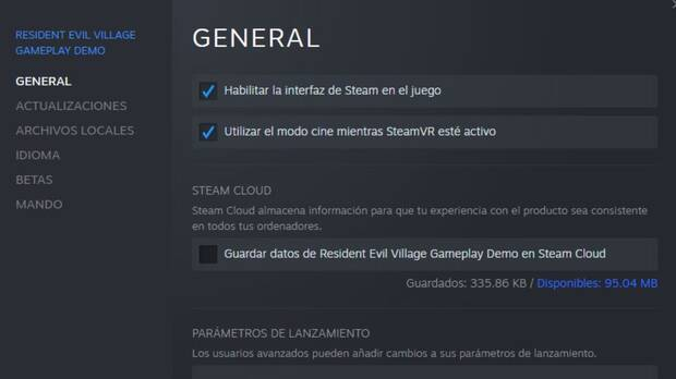 Steam Cloud RE8
