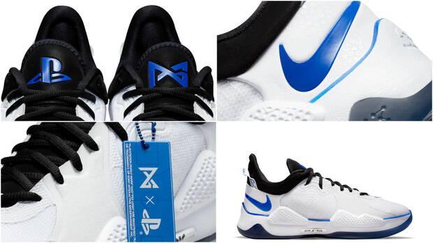 Las zapatillas PG 5 desde diferentes