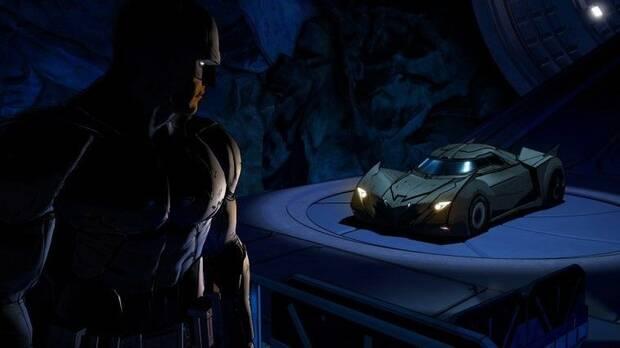 Captura de Batman - The Telltale Series.
