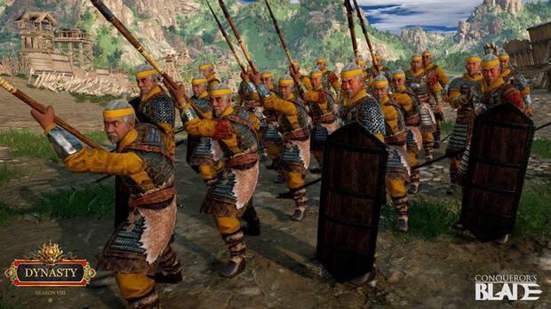 Llega la octava temporada de Conqueror's Blade
