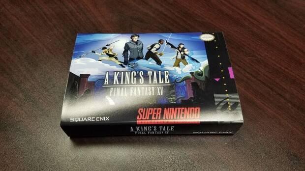 El equipo de A King's Tale: FFXV recibió una réplica de cartucho de SNES Imagen 3