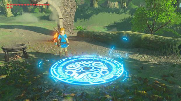 Teletransportador Zelda Breath of the Wild