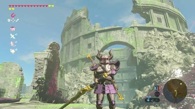 Atuendo espectral Zelda Breath of the Wild