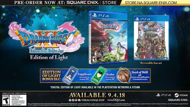 E3 2018: Anunciadas las ediciones para coleccionistas de Dragon Quest XI Imagen 2