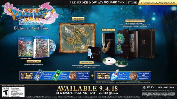 E3 2018: Anunciadas las ediciones para coleccionistas de Dragon Quest XI Imagen 3