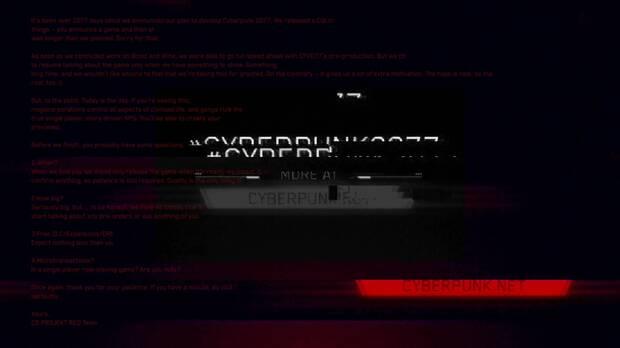 E3 2018: 'Dejamos la codicia a los demás', el mensaje oculto de Cyberpunk 2077 Imagen 3