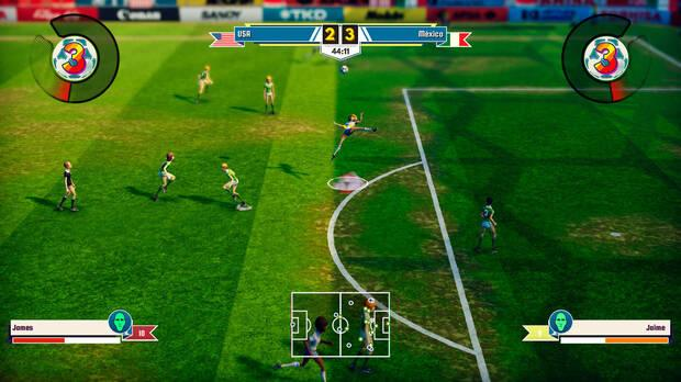 El Futbol De Legendary Eleven Calienta Para Su Llegada A Nintendo