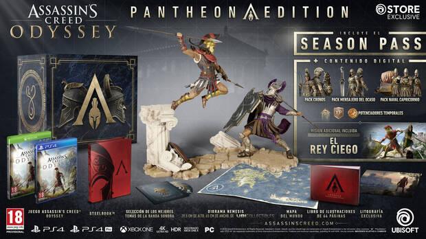 E3 2018: Así son las ediciones coleccionista de Assassin's Creed Odyssey Imagen 3