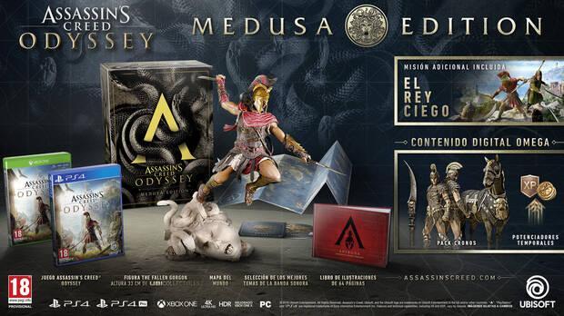 E3 2018: Así son las ediciones coleccionista de Assassin's Creed Odyssey Imagen 4