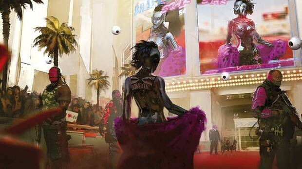 E3 2018: Comparan los artes de Cyberpunk 2077 con el tráiler del juego Imagen 7