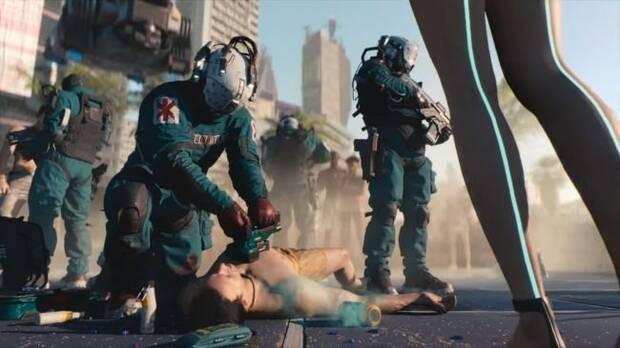 E3 2018: Comparan los artes de Cyberpunk 2077 con el tráiler del juego Imagen 8