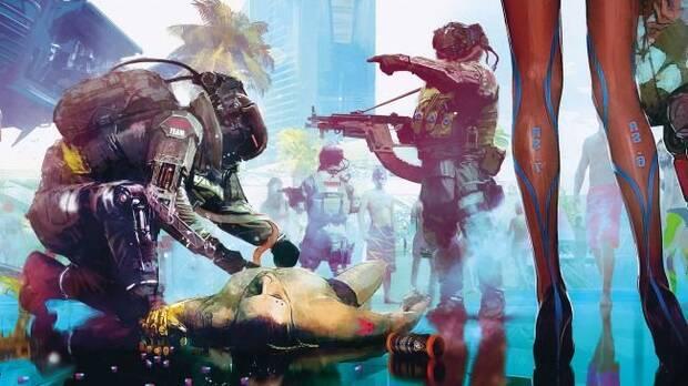 E3 2018: Comparan los artes de Cyberpunk 2077 con el tráiler del juego Imagen 9