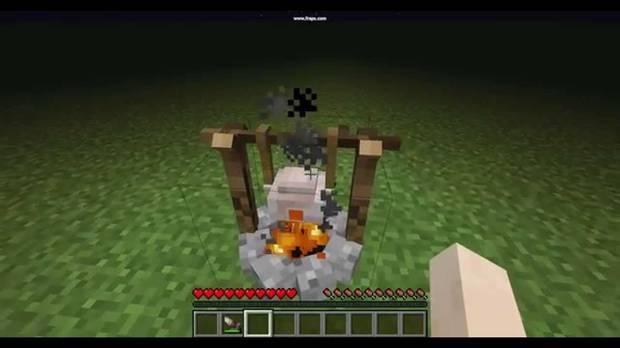 Minecraft, Cocinar