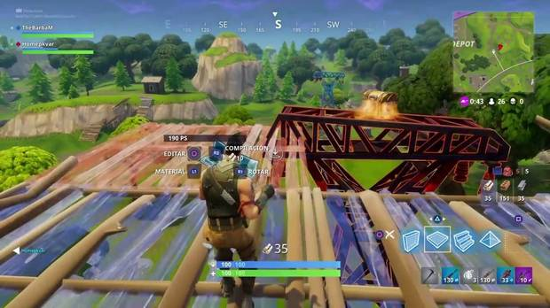 Construcción de combate Fortnite battle Royale
