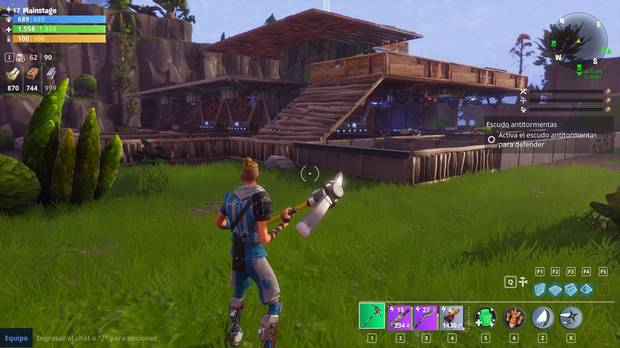 Cómo construir en Fortnite battle royale