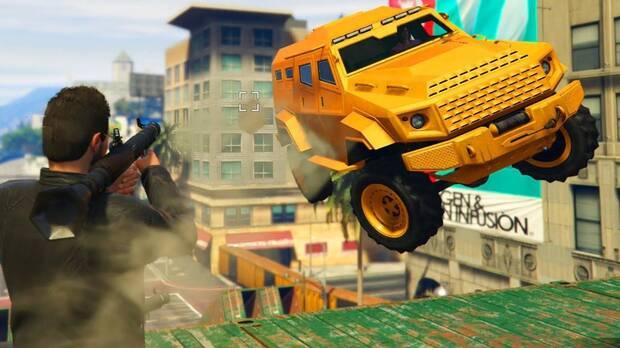 Rockets vs insurgents GTA online