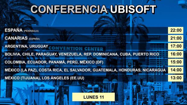 E3 2018: Sigue aquí la conferencia de Ubisoft - EN DIRECTO Imagen 2