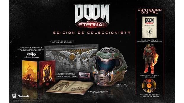 E3 2019: Así es la edición para coleccionistas con casco de Doom Eternal Imagen 2