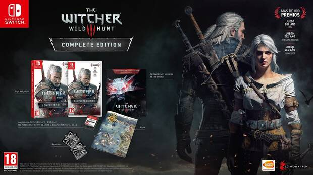 E3 2019: Se confirma The Witcher III Complete Edition en Switch Imagen 2