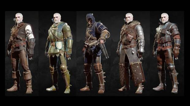 The Witcher 3: Wild Hunt - Sets de Brujo