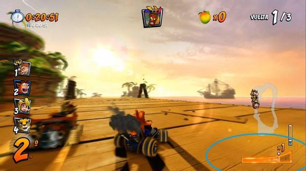 Crash Team Racing Nitro-Fueled: Cómo activar el superderrape