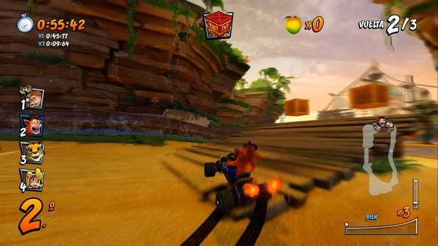 Crash Team Racing Nitro-Fueled: cómo activar derrape de nivel 3