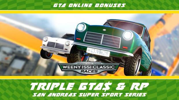 GTA Online: Triple de GTA$ y RP durante toda la semana en Circuito Hotring Imagen 2
