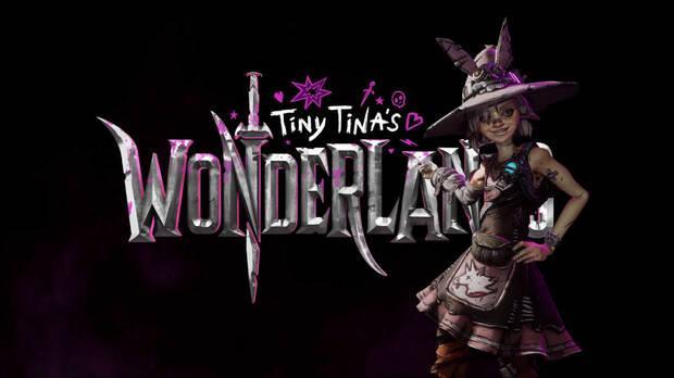Logo de Tiny Tina's Wonderlands.