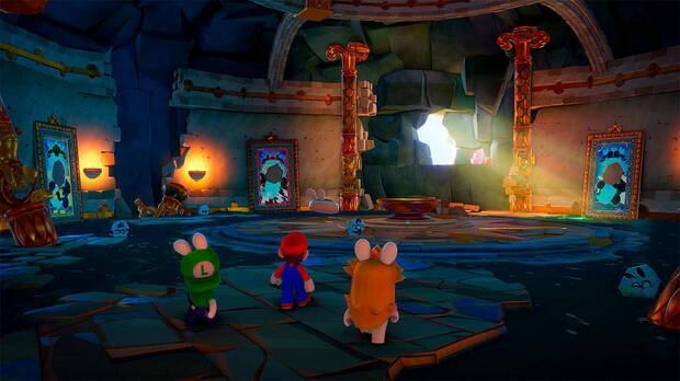 Captura de Mario + Rabbids: Sparks of Hope.