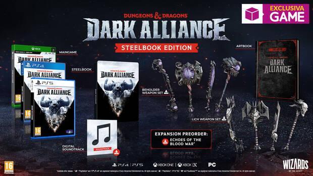 Steelbook Edition de Dungeons & Dragons: Dark Alliance en GAME