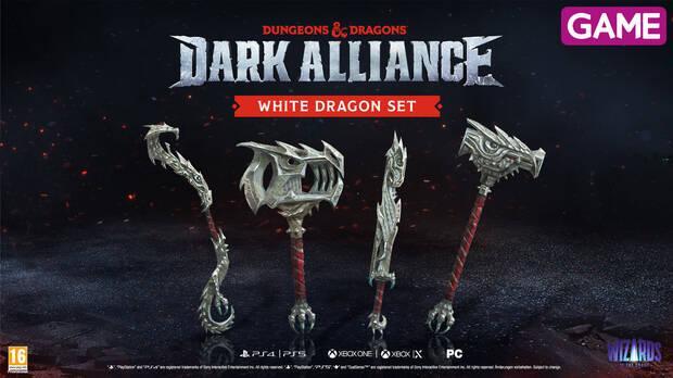 DLC White Dragon Set de Dungeons & Dragons: Dark Alliance en GAME