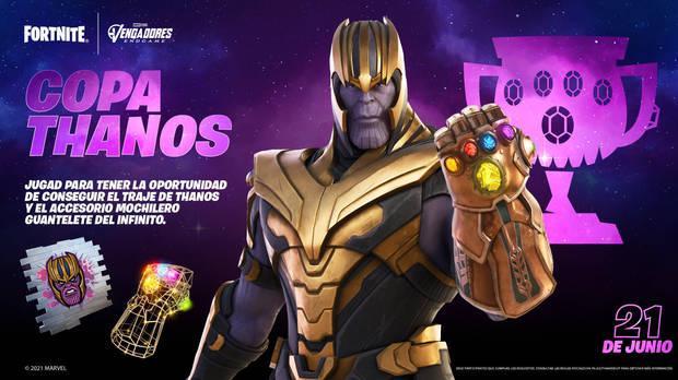 Fortnite Battle Royale - Copa Thanos