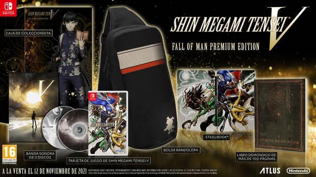 Shin Megami Tensei 5 fall of man premium edition