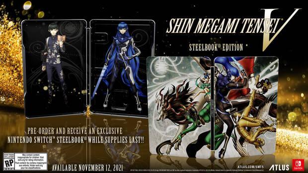 Shin Megami Tensei 5 caja met