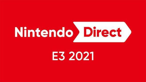 E3 2021 Nintendo Direct logo.