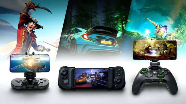 Controllers compatible with Xbox Cloud Gaming.