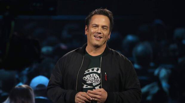 Phil Spencer at an Xbox conference at E3.