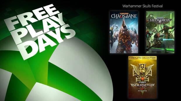 Free Play Days Xbox Warhammer