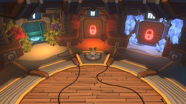 Official screenshot of Trifox gameplay