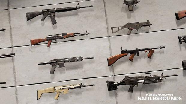 Las Mejores Armas en Playerunknowns battlegrounds