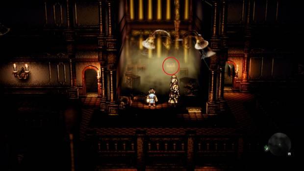 Octopath Traveler, Capítulo 2, Tressa, Casa de Omar